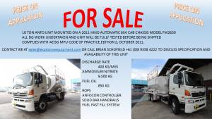 ANFO on Hino For Sale