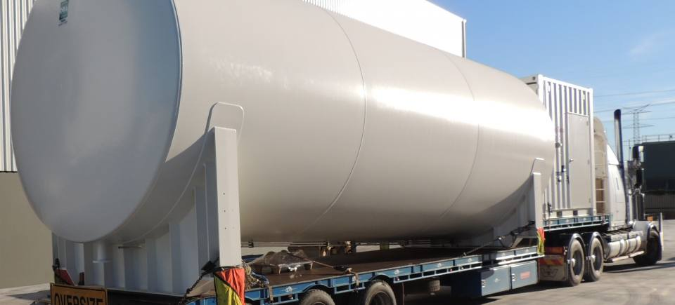 90,000 LITRE AMMONIUM NITRATE TANKS READY FOR DELIVERY