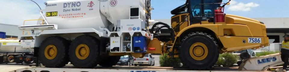 MPU on a CAT745 Carrier